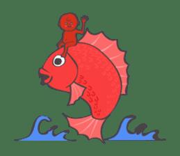 umeboshi Taro sticker #1109334