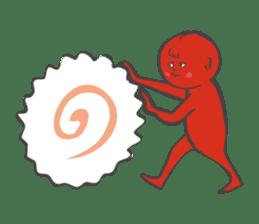 umeboshi Taro sticker #1109338