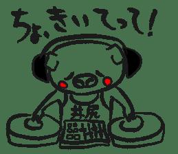 Hakata Son of a pig sticker #1109560