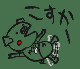 Hakata Son of a pig sticker #1109564