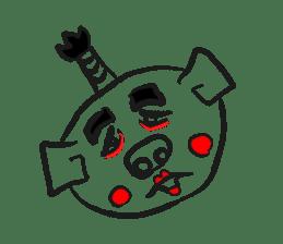 Hakata Son of a pig sticker #1109584