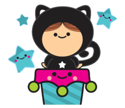 Lilipops - Lady Miau sticker #1109626