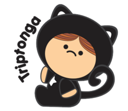 Lilipops - Lady Miau sticker #1109635