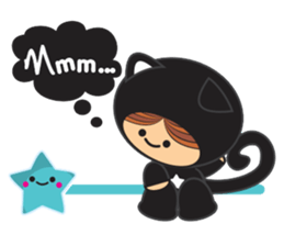 Lilipops - Lady Miau sticker #1109641