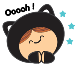 Lilipops - Lady Miau sticker #1109645