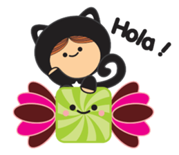 Lilipops - Lady Miau sticker #1109647