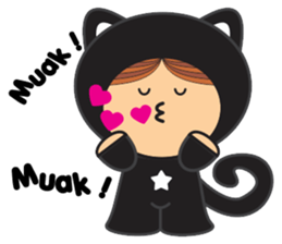 Lilipops - Lady Miau sticker #1109660