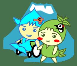 Akamaru & Maureen 2 sticker #1109782