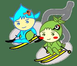 Akamaru & Maureen 2 sticker #1109784