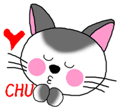 A happy day of Nyappi(English Version) sticker #1110609