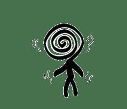 Stick figure sticker #1112515