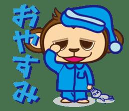 monnkichi & mokiko stiker sticker #1112790