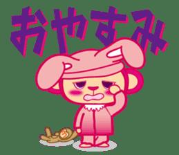 monnkichi & mokiko stiker sticker #1112823