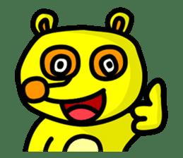 Friends with Tanukichi kun by akiraboy sticker #1112867