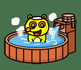 Friends with Tanukichi kun by akiraboy sticker #1112880