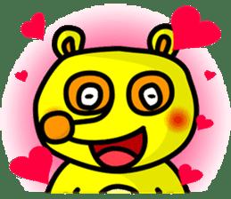 Friends with Tanukichi kun by akiraboy sticker #1112884