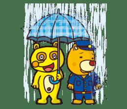 Friends with Tanukichi kun by akiraboy sticker #1112891