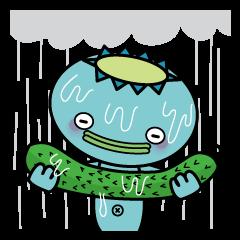 Dripping wet kappa Kawatarou