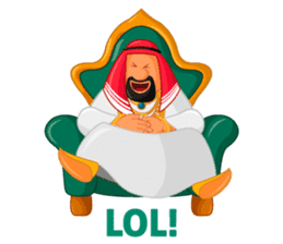 Sheikh Sultan: Welcome to the Royal Life sticker #1114347