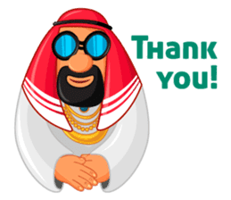 Sheikh Sultan: Welcome to the Royal Life sticker #1114357