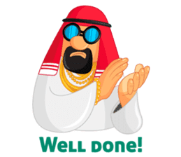 Sheikh Sultan: Welcome to the Royal Life sticker #1114364