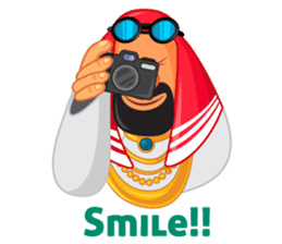 Sheikh Sultan: Welcome to the Royal Life sticker #1114373