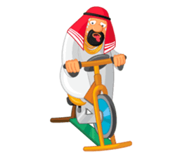 Sheikh Sultan: Welcome to the Royal Life sticker #1114374