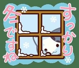 Tabby cat / Nyanko Autumn and winter sticker #1116195