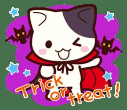 Tabby cat / Nyanko Autumn and winter sticker #1116206