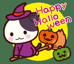 Tabby cat / Nyanko Autumn and winter sticker #1116207