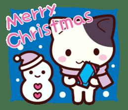 Tabby cat / Nyanko Autumn and winter sticker #1116213