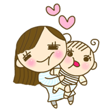 Baby & Mother sticker #1118707