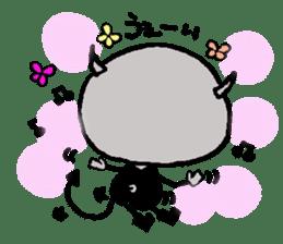 Bibiru's growth record sticker #1119920
