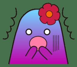 amiable fleur sticker #1120369