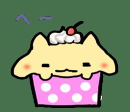Cup Cake Cat sticker #1121268