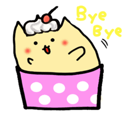 Cup Cake Cat sticker #1121270