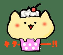 Cup Cake Cat sticker #1121272