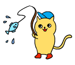 ANGLER CAT. sticker #1122988