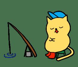 ANGLER CAT. sticker #1122993