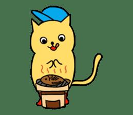 ANGLER CAT. sticker #1122994