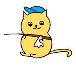 ANGLER CAT. sticker #1123002