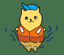ANGLER CAT. sticker #1123004