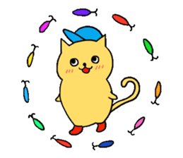 ANGLER CAT. sticker #1123006