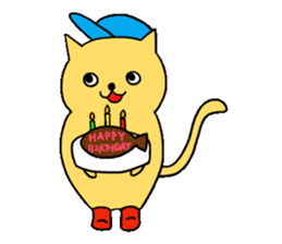ANGLER CAT. sticker #1123011