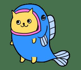 ANGLER CAT. sticker #1123018
