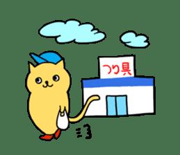 ANGLER CAT. sticker #1123022