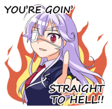 Chunibyo Girlfriend sticker #1123137