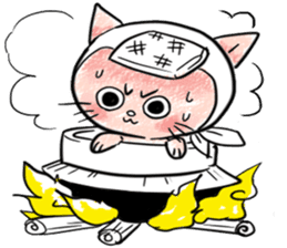 Iga Ninja cat Kotaro sticker #1124641