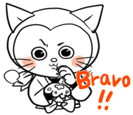 Iga Ninja cat Kotaro sticker #1124652