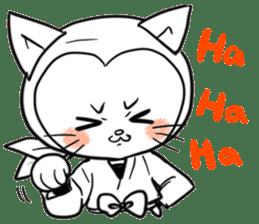 Iga Ninja cat Kotaro sticker #1124653
